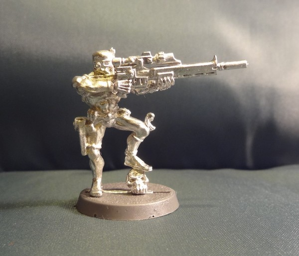 Vindicare Assassin With Sniper Rifles